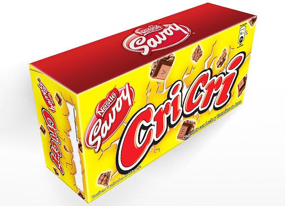 Chocolate SAVOY CRICRI (caja 5 unidades)