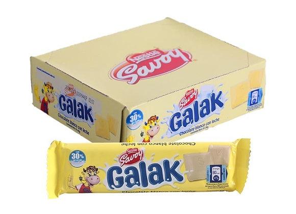 Chocolate SAVOY GALAC (Caja 12 unidades)