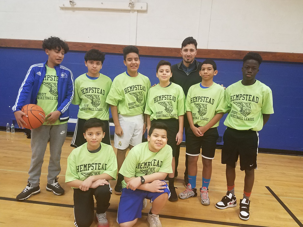 HEMPSTEAD EOC BASKETBALL TEAM WINTER 2019