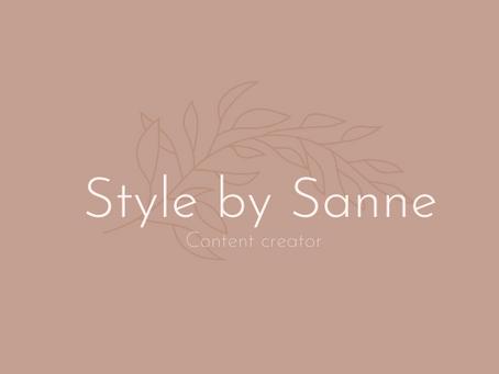 Een nieuwe start voor Style by Sanne