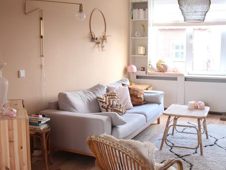 Binnenkijken in mijn eigen interieur, Scandinavisch, vintage en een vleugje boho.