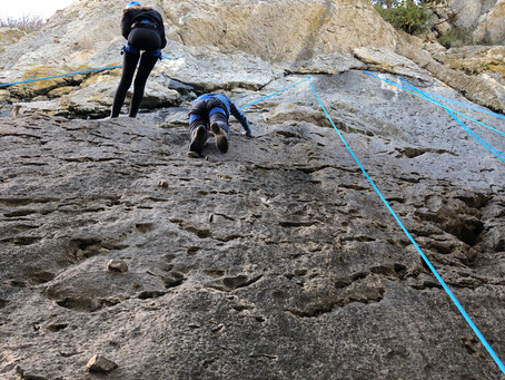 Sortie en falaise du samedi 24 novembre 18