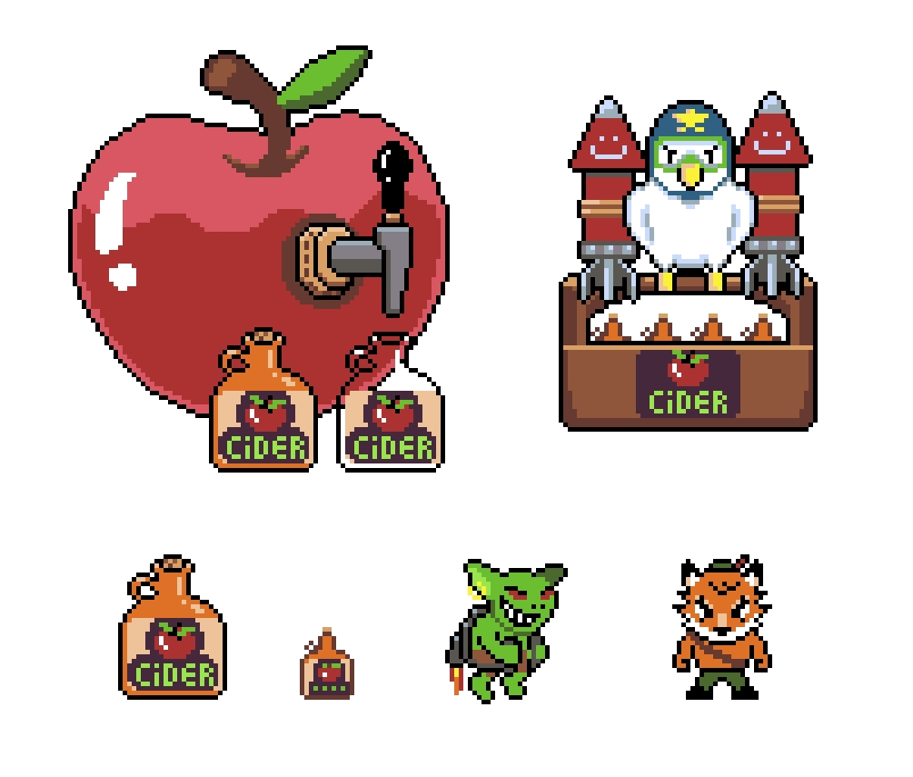Cider Fox Objects