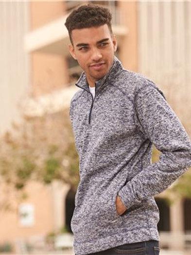 J. America - Cosmic Fleece Quarter-Zip Sweatshirt - 8614