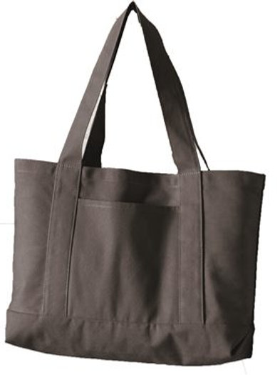 Liberty Bags - Pigment Dyed Premium 12 Ounce Canvas Gusseted Tote - 8870