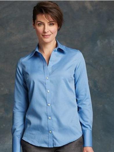 Calvin Klein - Women's Non-Iron Dobby Pindot Shirt - 13CK030