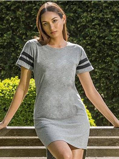 MV Sport - Women's Varsity T-Shirt Dress - W20422