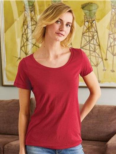 Hanes - Women's Modal Triblend Short Sleeve T-Shirt - MO150
