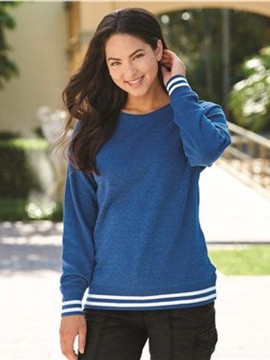 J. America - Women's Relay Crewneck Sweatshirt - 8652