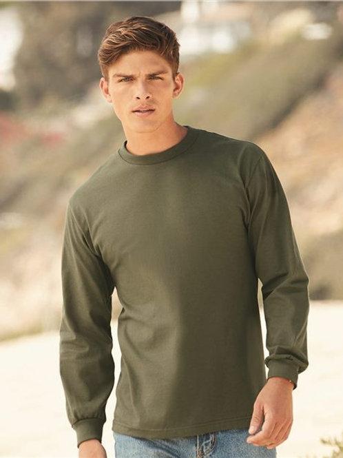 ALSTYLE - Classic Long Sleeve T-Shirt - 1304 Powder Blue-White