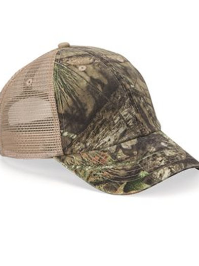 Kati - Unstructured Washed Mesh Cap - LC101V
