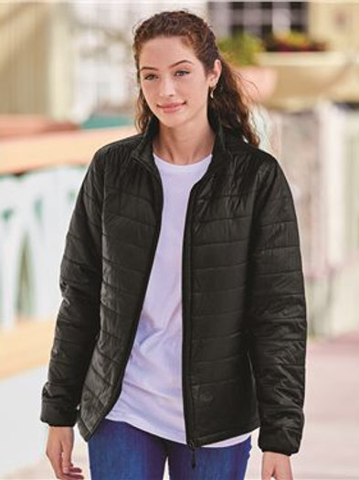 Independent Trading Co. - Women's Puffer Jacket - EXP200PFZ