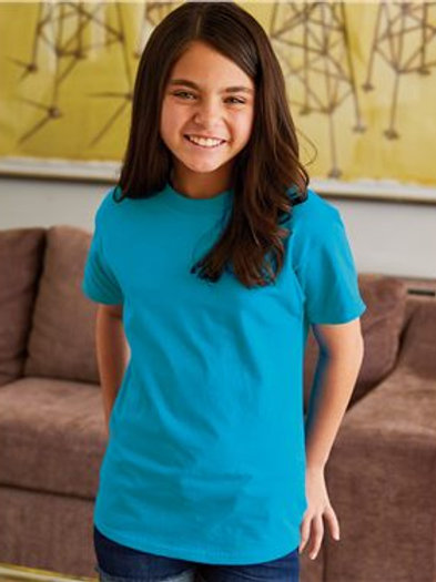 Hanes - Authentic Youth Short Sleeve T-Shirt - 5450