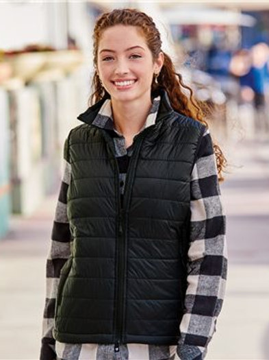 Independent Trading Co. - Women's Puffer Vest - EXP220PFV