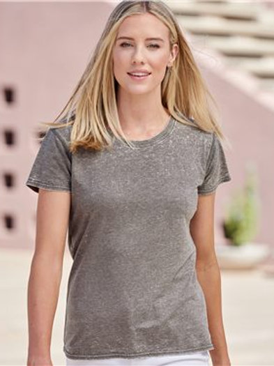 J. America - Women's Zen Jersey Short Sleeve T-Shirt - 8116