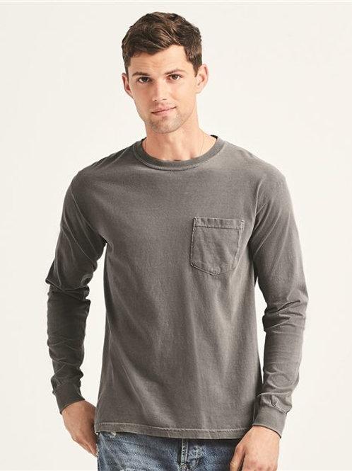 Comfort Colors - Garment-Dyed Heavyweight Long Sleeve Pocket T-Shirt - 4410