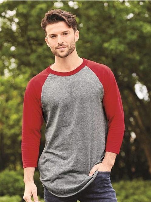 Augusta Sportswear - Three-Quarter Raglan Sleeve Baseball Jersey - 4420