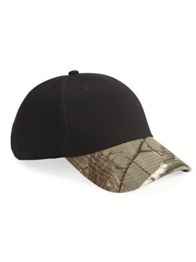 Kati - Solid Crown Camouflage Cap - LC25