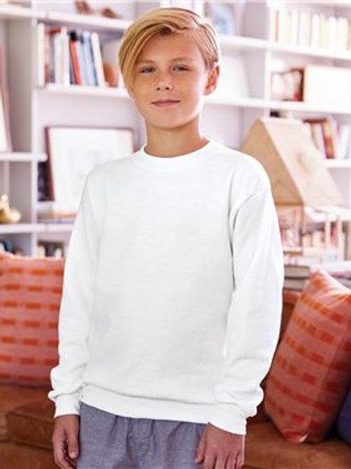 Hanes - Ecosmart® Youth Crewneck Sweatshirt - P360