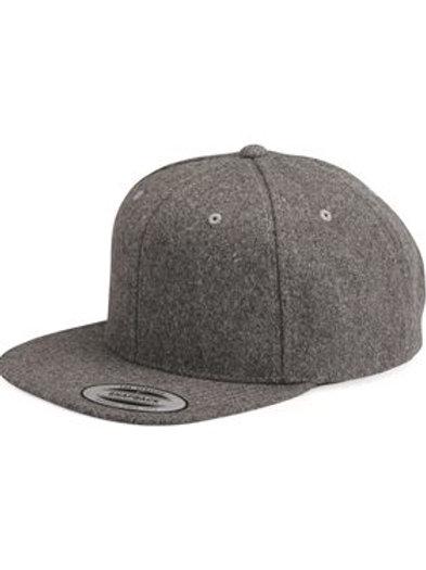 Yupoong - Classics™ Melton Wool Blend Snapback Cap - 6689
