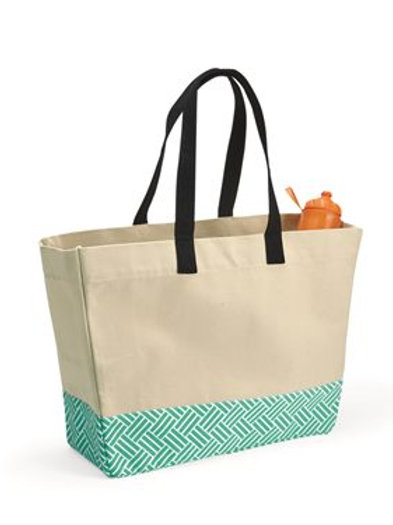 Brookson Bay - 29L Bottom Pattern Beach Tote - BB100