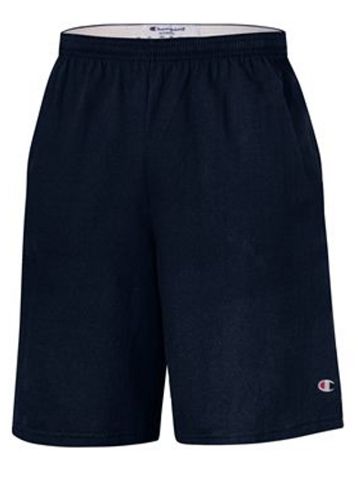 """Champion - Cotton Jersey 9"""" Shorts with Pockets - 8180"""