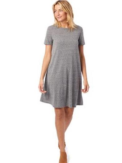 Alternative - Women's Eco-Jersey Flare T-Shirt Dress - 2918