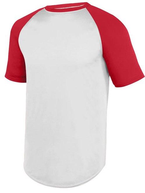 Augusta Sportswear - Wicking Short Sleeve Baseball Jersey - 1508