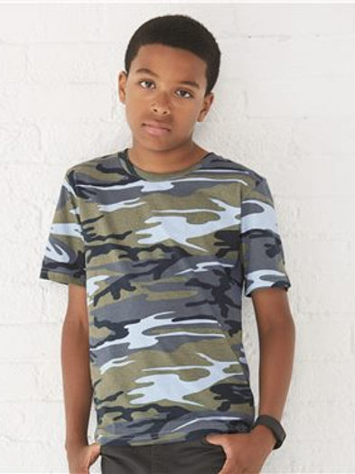 Code Five - Youth Camouflage T-Shirt - 2207
