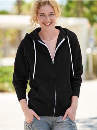 Independent Trading Co. - Unisex Lightweight Full-Zip Hooded Sweatshirt - AFX90U