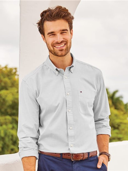 Tommy Hilfiger - Capote End-on-End Chambray Shirt - 13H1861