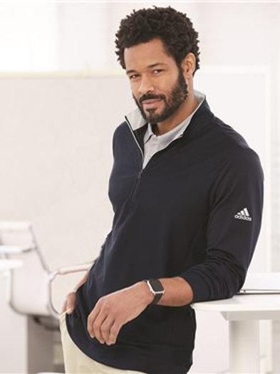 Adidas - Performance Texture Quarter-Zip Pullover - A295