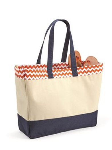 Brookson Bay - 29L Top Pattern Beach Tote - BB300