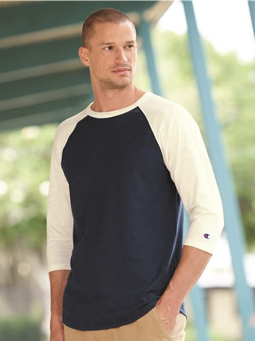 Champion - Premium Fashion Raglan Three-Quarter Sleeve Baseball T-Shirt - CP75