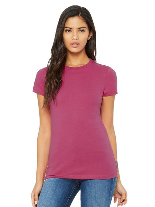 BELLA + CANVAS - Women's The Favorite Tee - 6004 Kelly-Yellow