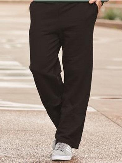 JERZEES - NuBlend® Open Bottom Sweatpants with Pockets - 974MPR