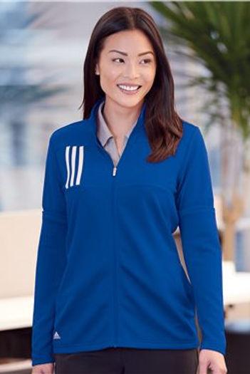 Adidas - Women's 3-Stripes Double Knit Full-Zip - A483
