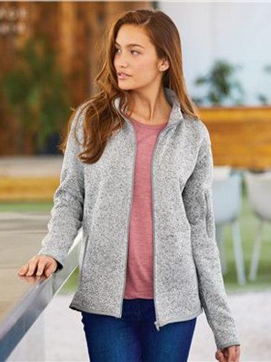 Burnside - Women's Sweater Knit Jacket - 5901