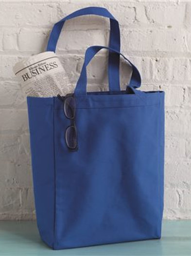 Liberty Bags - 10 Ounce Gusseted Cotton Canvas Tote - 8861