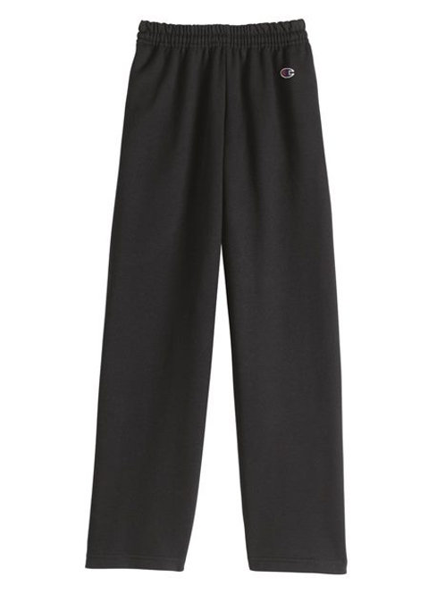 Champion - Double Dry Eco® Youth Open Bottom Sweatpants with Pockets - P890