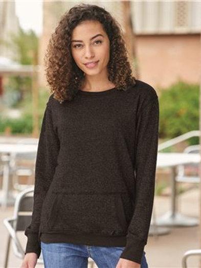 J. America - Women's Glitter French Terry Sweatshirt - 8867