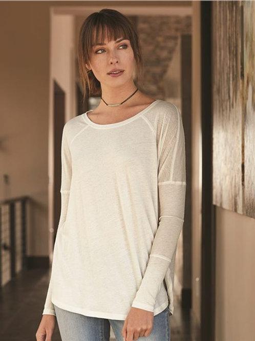 Alternative - Women's Gauze Ramble Long Sleeve Raglan Tunic - 6024