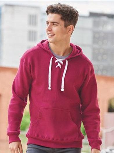J. America - Sport Lace Hooded Sweatshirt - 8830