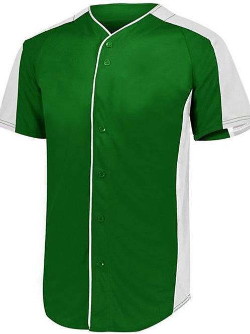 Augusta Sportswear - Full Button Baseball Jersey - 1655