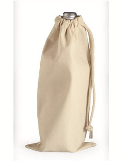 Liberty Bags - 10 Ounce Cotton Canvas Drawstring Wine Bag - 1727