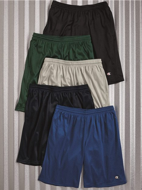 """Champion - Polyester Mesh 9"""" Shorts with Pockets - S162"""