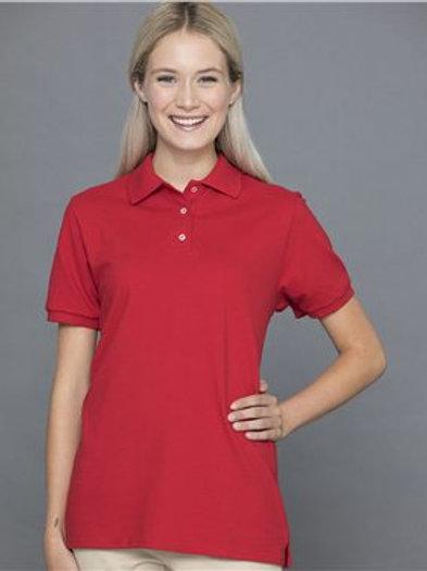 JERZEES - Women's 100% Ringspun Cotton Pique Sport Shirt - 443W