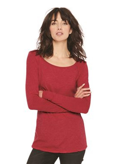 Next Level - Women's Triblend Long Sleeve Scoop - 6731