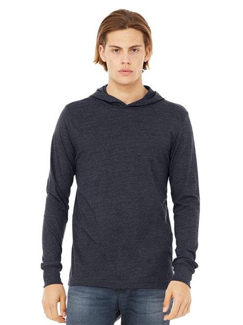 BELLA + CANVAS - Unisex Jersey Hooded Long Sleeve Tee - 3512