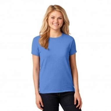 Gildan - Heavy Cotton™ Women's T-Shirt - 5000L Irish Green-White